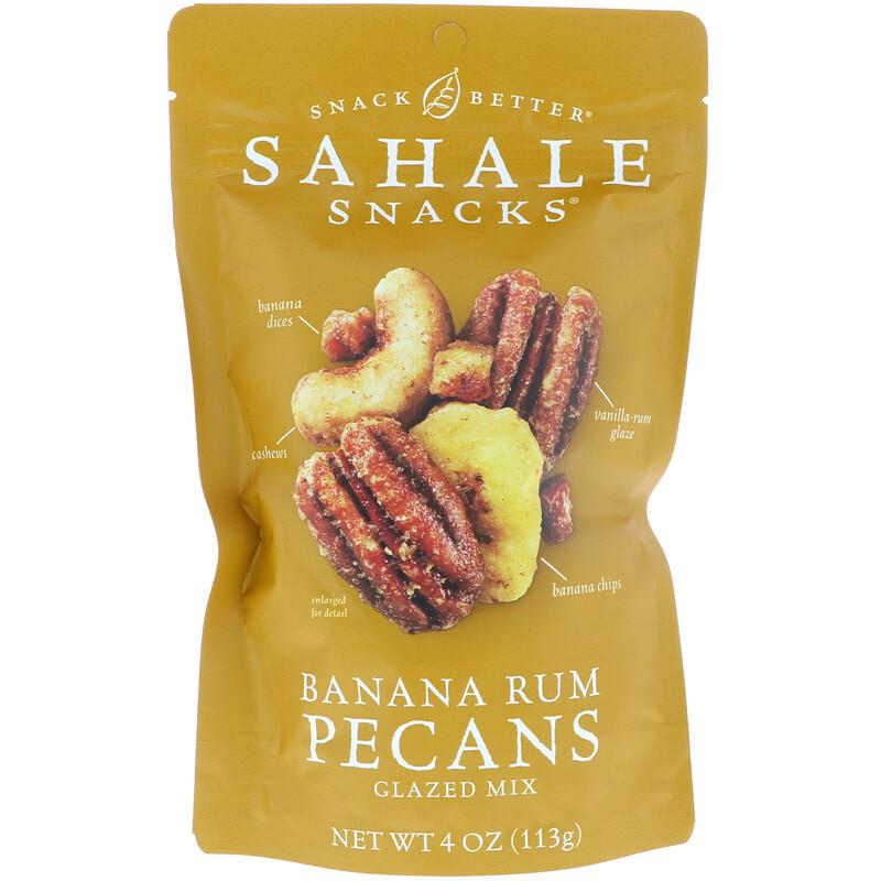 Glazed Mix, Banana Rum Pecans, 4 oz (113 g)