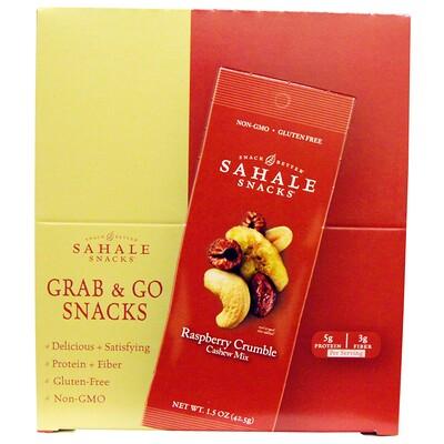 Смесь кешью и малиновый крамбл, 9 упаковок по 1.5 унции (42.5 г)