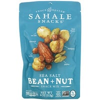 Sahale Snacks, Snack Mix, Sea Salt Bean + Nut, 4 oz (113 g)