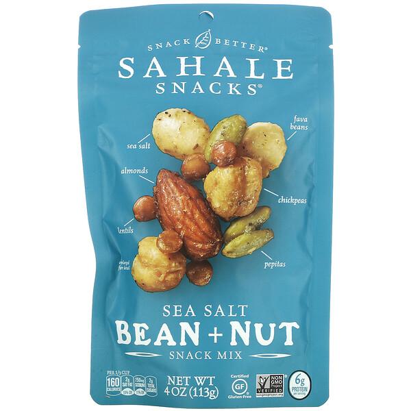Sahale Snacks, Snack Mix, Sea Salt Bean + Nut, 4 oz (113 g)