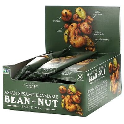 Sahale Snacks Snack Mix, Asian Sesame Edamame Bean + Nut, 9 Bags,1.25 oz (36 g) Each