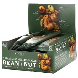 Sahale Snacks, Snack Mix, Asian Sesame Edamame Bean + Nut, 9 Bags, 1.25 oz (36 g) Each