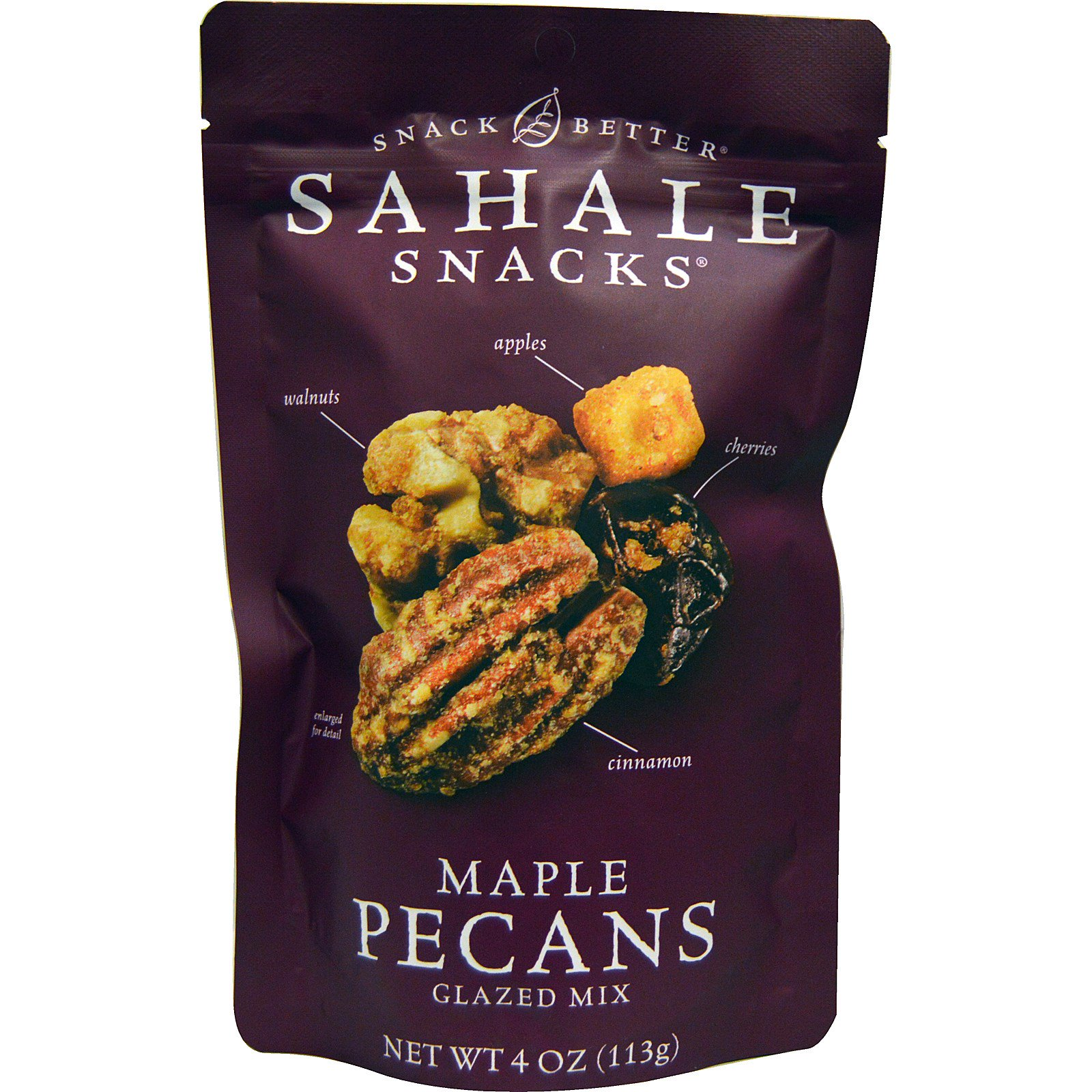 Sahale Snacks, Глазированная смесь с кленовым пеканом, 4 унции (113 г)