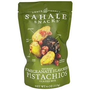 Сехале Снакс, Glazed Mix, Naturally Pomegranate Flavored Pistachios, 4 oz (113 g) отзывы покупателей