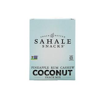 Sahale Snacks, Snack Mix, Pineapple Rum Cashew Coconut, 7 Packs, 1.5 oz (42.5 g) Each