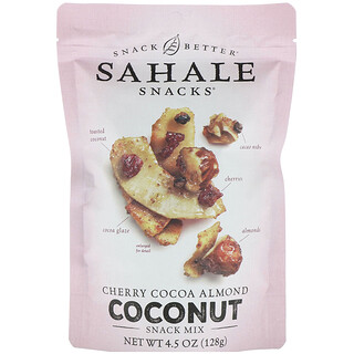 Sahale Snacks, مكمل غذائي Snack Mix، كرز كاكاو لوز جوز الهند، 4.5 أونصة (128 جم)