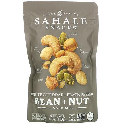 Sahale Snacks Snack Mix, White Cheddar, Black Pepper Bean + Nut, 4 oz (113 g)