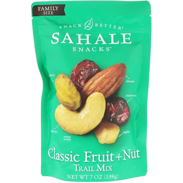 Sahale Snacks, Trail Mix, Classic Fruit + Nut, 7 oz (198 g) (Discontinued Item)