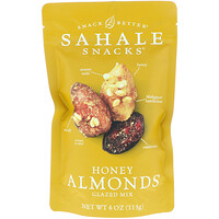 Glazed Mix, Honey Almonds, 4 oz (113 g) - фото