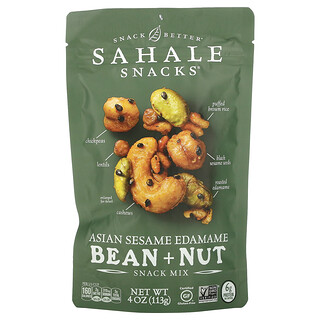 Sahale Snacks, Snack Mix, Asian Sesame Edamame Bean + Nut, 4 oz (113 g)