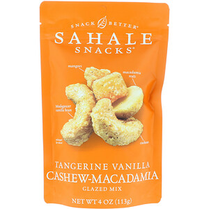 Сехале Снакс, Glazed Mix, Tangerine Vanilla Cashew-Macadamia, 4 oz (113 g) отзывы