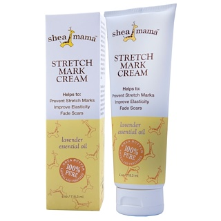 Shea Baby Shea Mama, Stretch Mark Cream, 4 oz (118.3 ml)