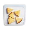 Stasher, Reusable Silicone Food Bag, Sandwich Size Medium, Clear, 15 fl oz (450 ml)
