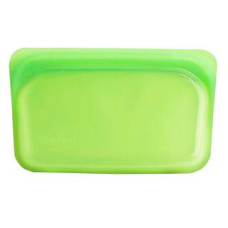 Stasher, Reusable Silicone Food Bag, Snack Size Small, Lime, 9.9 fl oz (293.5 ml)