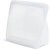 Stasher, 可重複使用的矽膠食品袋,經久耐用的袋子,透明,56 液量盎司(128 克)