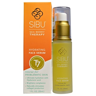 Sibu Beauty, Sea Buckthorn Oil Hydrating Serum, 1 fl oz (30 ml)