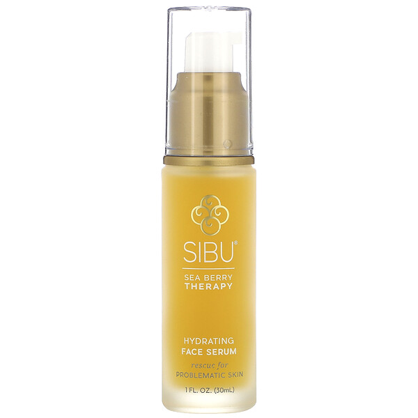 Sibu Beauty, Sea Buckthorn Oil Hydrating Serum, 1 fl oz (30 ml)