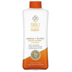Sibu Beauty, 歐米伽-7 混合物,每日沙棘汁混合物,25.35 盎司(750 毫升)