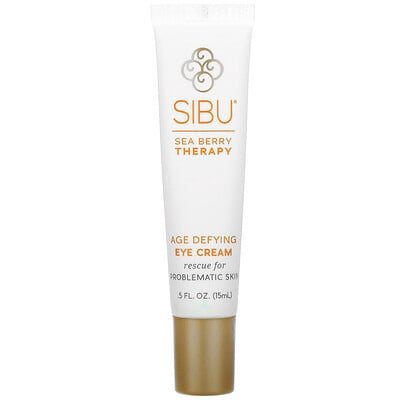 Купить Sibu Beauty Омолаживающий антивозрастной крем для глаз с облепихой, 5 жидких унций (15 мл)