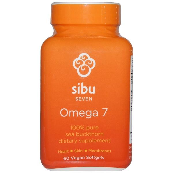 Sibu Beauty, Omega 7, 60 Softgels (Discontinued Item)