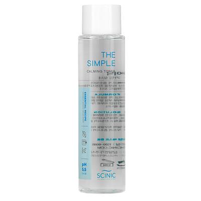 Scinic The Simple Calming Toner, pH 5.5, 4.9 fl oz (145 ml)