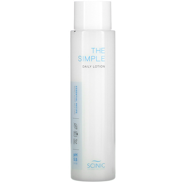 The Simple Daily Lotion, pH 5.5, 4.9 fl oz (145 ml)