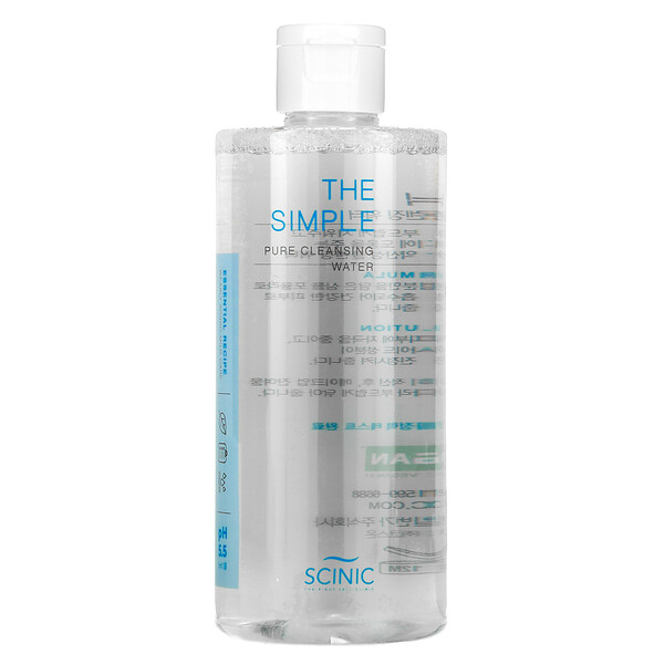 The Simple Pure Cleansing Water, pH 5.5, 10.14 fl oz (300 ml)