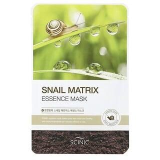 Scinic, Snail Matrix Essence Beauty Mask, 1 Sheet, 0.67 fl oz (20 ml)