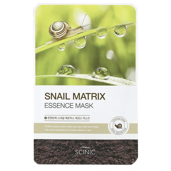 Snail Matrix Essence Mask, 1 Sheet, 0.67 fl oz (20 ml)