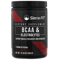 Аминокислоты с разветвленными цепями (BCAA) и электролиты, 7г BCAA, фруктовый пунш, 435г (15,34унции) - фото