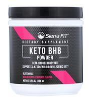 Keto BHB, порошок, бета-гидроксибутират, ягодный лимонад, 158г (5,55унции) - фото