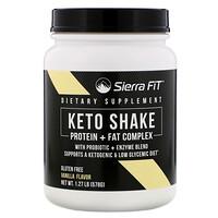 Keto Shake, Vanilla Flavor, 1.27 lbs (578 g) - фото