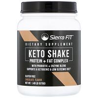 Keto Shake, Chocolate, 1.49 lbs (675 g) - фото