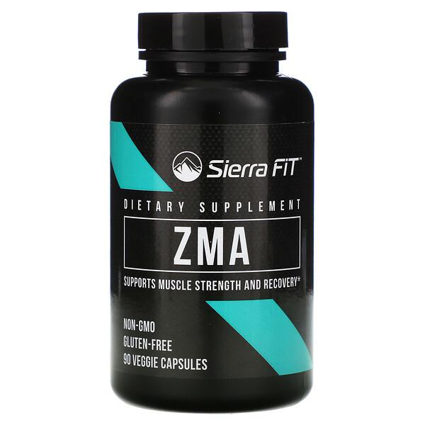 Sierra Fit, ZMA, 90 Veggie Capsules