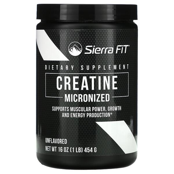 Micronized Creatine Powder, Unflavored, 16 oz (454 g)