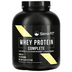 Sierra Fit, полный комплекс сывороточного протеина, ваниль, 2,27 кг (5фунтов)