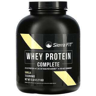 Sierra Fit, Whey Protein Complete, Vanilla, 5 lb (2.27 kg)
