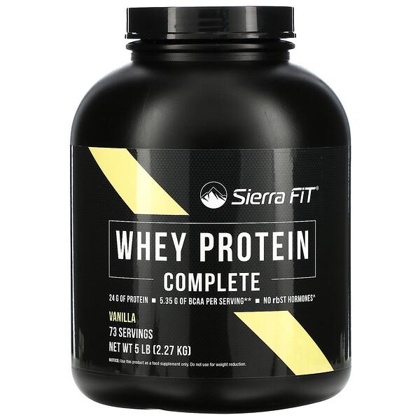 完整乳清蛋白,香草,5 磅(2.27 千克)