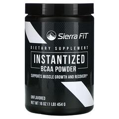 Sierra Fit, 速溶支链氨基酸粉,原味,16 盎司(454 克)