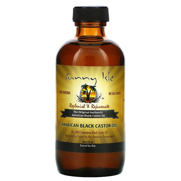 全天然牙买加黑蓖麻油,4 液量盎司