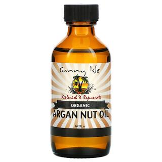 Sunny Isle, Organic Argan Nut Oil, 2 fl oz