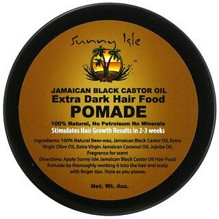 Sunny Isle, Jamaican Black Castor Oil, Extra Dark Hair Food Pomade, 4 oz