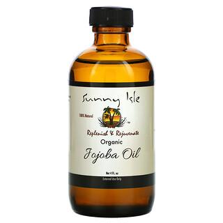 Sunny Isle, Organic Jojoba Oil, 4 fl oz