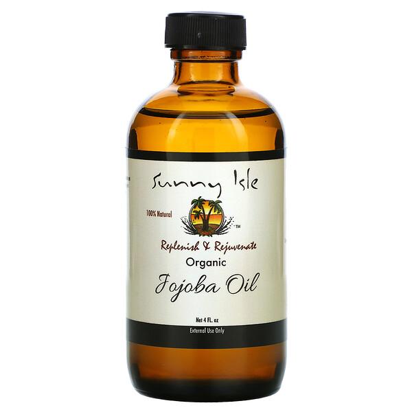 Organic Jojoba Oil, 4 fl oz