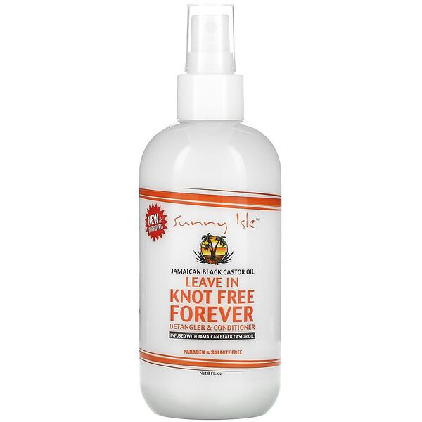 Jamaican Black Castor Oil, Leave in Knot Free Forever, 8 fl oz