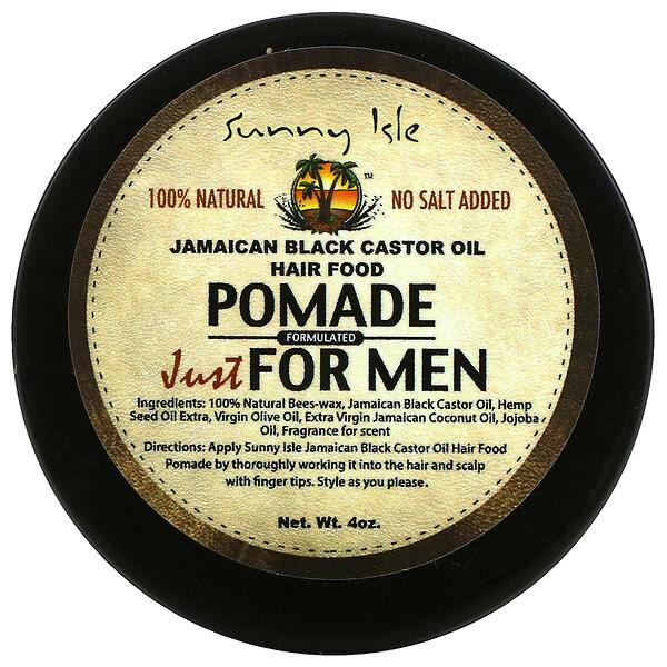 Jamaican Black Castor Oil, Pomade Just For Men, 4 oz