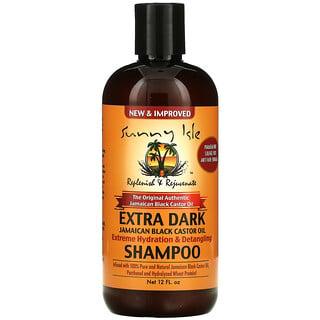 Sunny Isle, Extra Dark Jamaican Black Castor Oil Shampoo, 12 fl oz