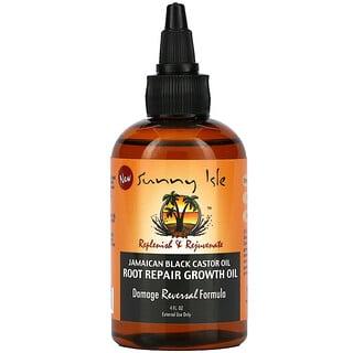 Sunny Isle, Jamaican Black Castor Oil, Root Repair Growth Oil, 4 fl oz