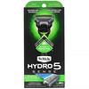 Schick, Hydro 5 Sense, Sensitive, 1 Razor, 2 Cartridges