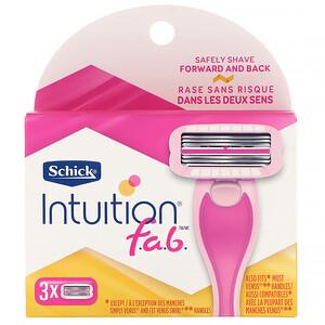 Schick, Intuition F.A.B., 3 Refills отзывы